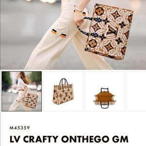 Louis Vuitton Crafty ONTHEGO  limited edition